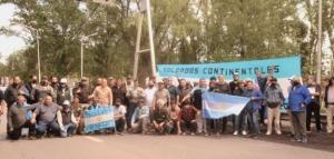 Otra protesta de exsoldados movilizados