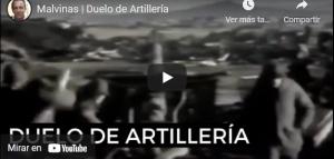 Malvinas | Duelo de Artillería
