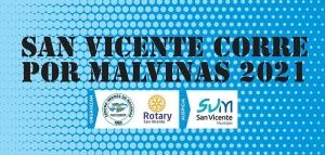 San Vicente corre x Malvinas