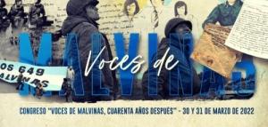 """Congreso: """"Voces de Malvinas cuarenta años después (VDM)"""""""