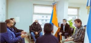 Melella mantuvo un encuentro con autoridades del Centro de Veteranos de Guerra Malvinas Argentinas