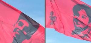 Circunvalación: Excombatientes de Malvinas bajaron las banderas en memoria de Sol y Agustín