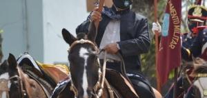 Viajó a caballo 33 días para llegar a Yapeyú y honrar a San Martín