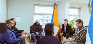 Melella se reunió con autoridades del Centro de Veteranos de Guerra Malvinas Argentinas