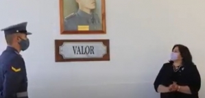 Reconocimiento a soldado tinogasteño, Héroe de la Patria