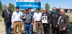 Homenajearon a un Ex Combatiente de Malvinas
