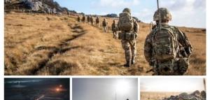 Fuerzas británicas desarrollan el Ejercicio Cape Bayonet en las Islas Malvinas (imágenes)