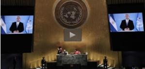 Argentina en AGNU reclama derechos soberanos sobre las Malvinas