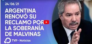 Argentina renueva ante la ONU el reclamo de soberanía sobre las Malvinas