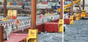 Tierra del Fuego denunció a la constructora Bam Nuttall por la obra del nuevo puerto en Malvinas