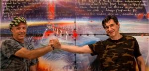 La carta que envió un soldado desde Malvinas en 1982 e inspiró ahora las pinturas de su amigo artista