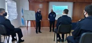 Veteranos de Guerra de Malvinas brindaron una charla en la Escuela de Submarinos