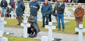 Malvinas: investigan si hay nuevos restos de soldados argentinos enterrados sin identificar