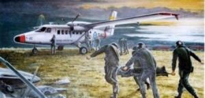 Misiones de rescate en la Isla Borbón