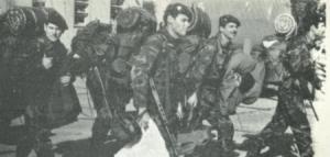 La Compañía de Comandos 602 entra en escena